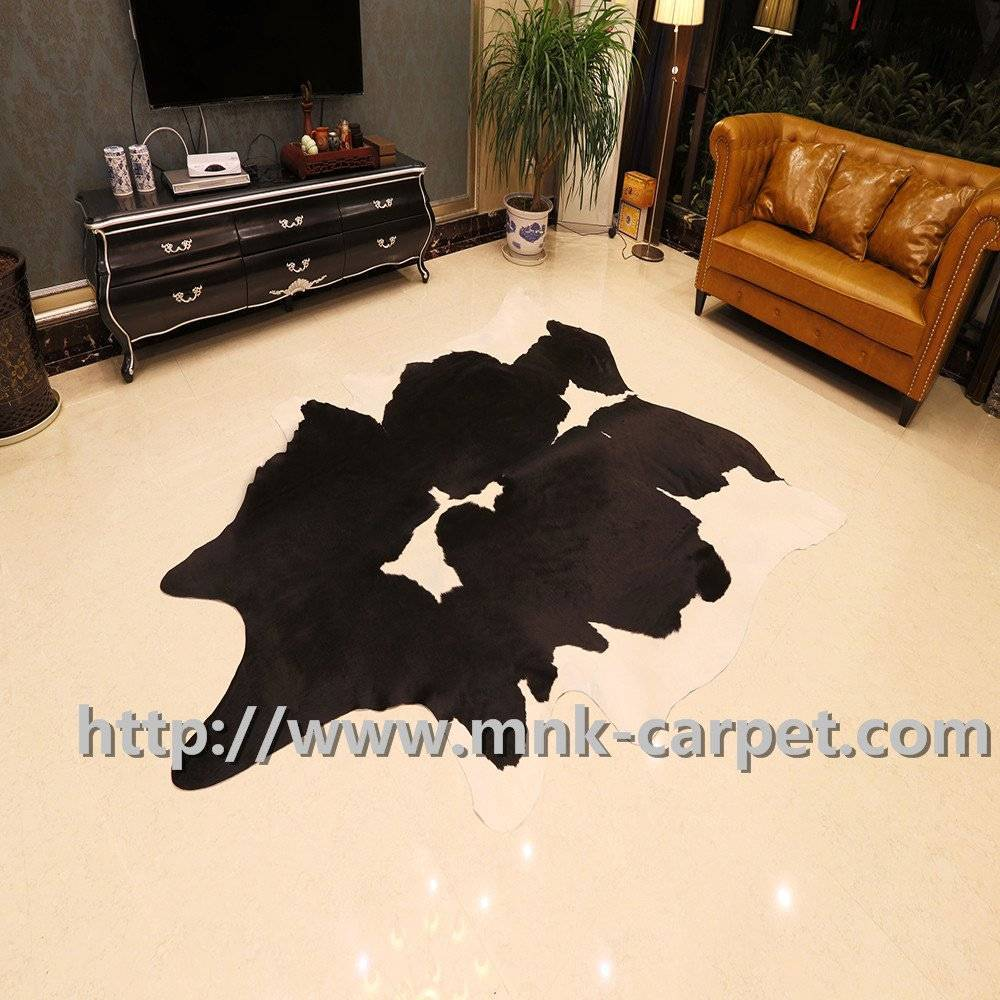 Natural And Safety Full Cowhide Rug Sofa Decoration