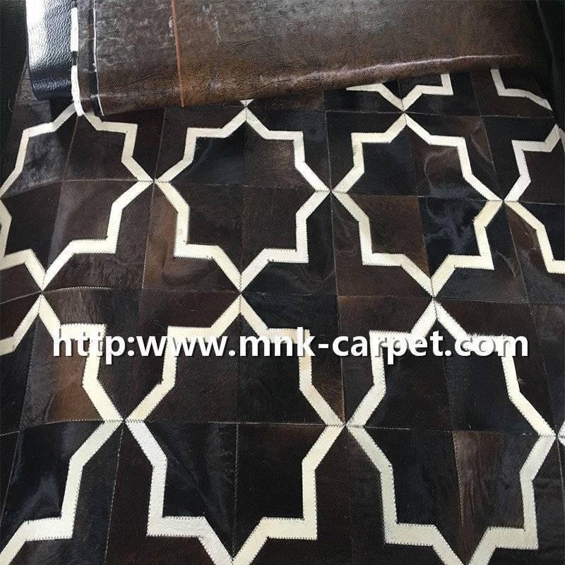 Classical Design Natural Animal Skin Rugs Floor Decor