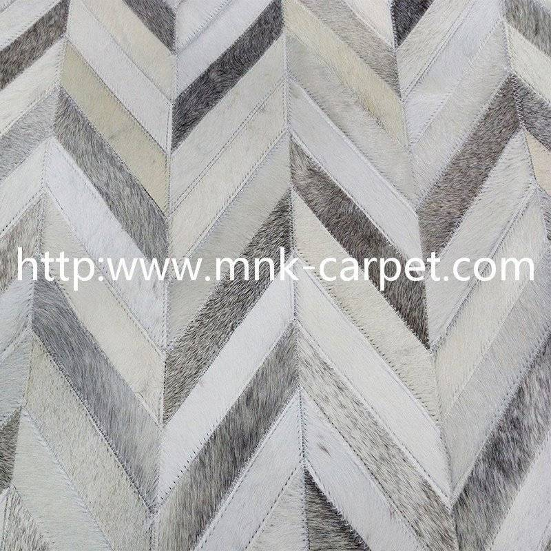 Natural Leather Products Luxury Hotel Lobby Carpets